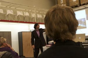 Presentatie tijdens seniorenacademie